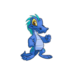 blue krawk